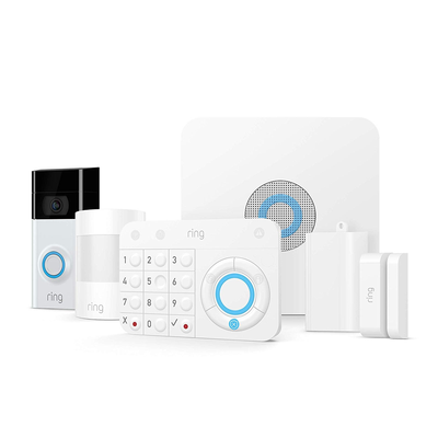 Ring Video Doorbell 2 + Ring Alarm 5-Piece Kit