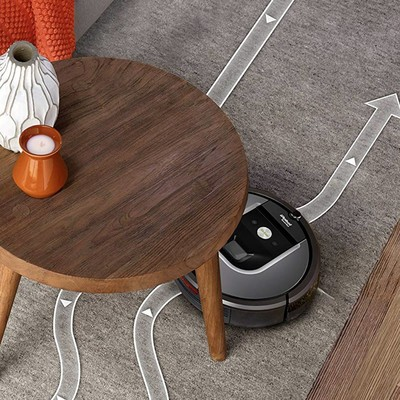 Let the Alexa-enabled $449 iRobot Roomba 960 clean while you loaf around the house