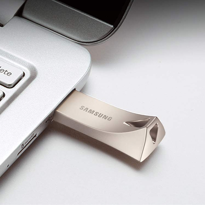 ca0f860e7e9 Store up to 128GB with Samsung s durable BAR Plus USB Flash Drive at one of  its best prices yet