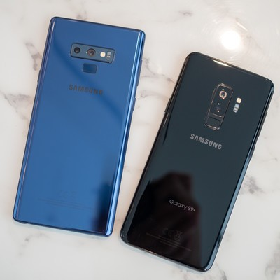 Samsung Galaxy S9 and Note 9