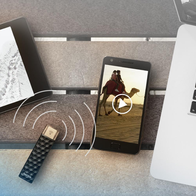 Easily move data from your phone to your PC with SanDisk's discounted Connect Wireless flash drive