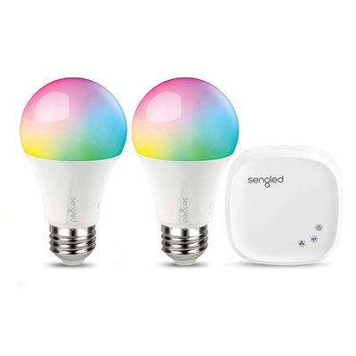 Sengled Smart LED Multicolor A19 2-bulb Starter Kit