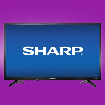 Just $100 will get you this Sharp 32-inch LED Smart Roku TV