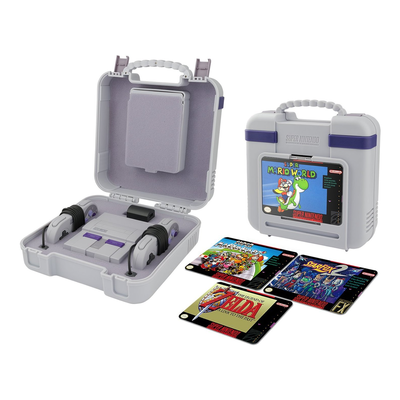 PDP SNES Classic Deluxe Carrying Case for the Super Nintendo Classic Console