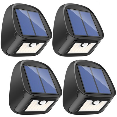 Erligpowht Motion-sensing Solar Outdoor Lights, 4-pack