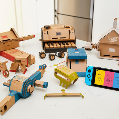 Augment your gameplay experience with Nintendo Switch Labo kits at best ever prices