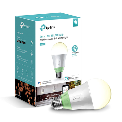 Kasa Smart Wi-Fi LED Light Bulb by TP-Link (LB110)