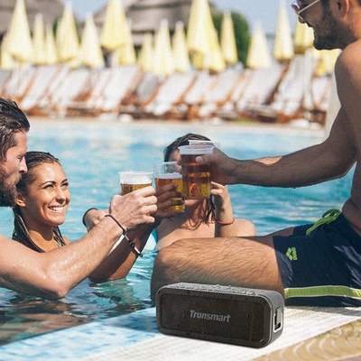 Toss Tronsmart's Force Bluetooth Speaker into the pool for a swim at $12 off