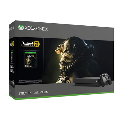 Xbox One X 1TB Console - Fallout 76 Bundle