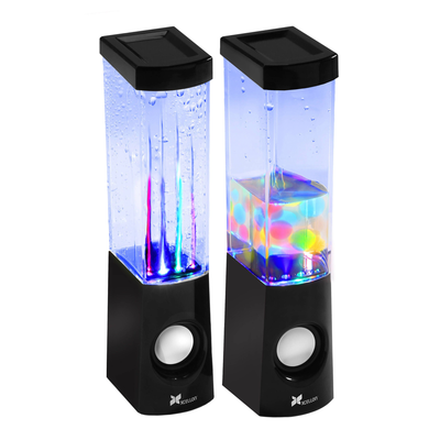 Throw a mini desk party with these Dancing Water Speakers at $7 off today
