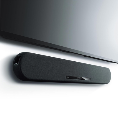 Experience virtual 3D surround sound with $50 off this refurbished Yamaha Soundbar