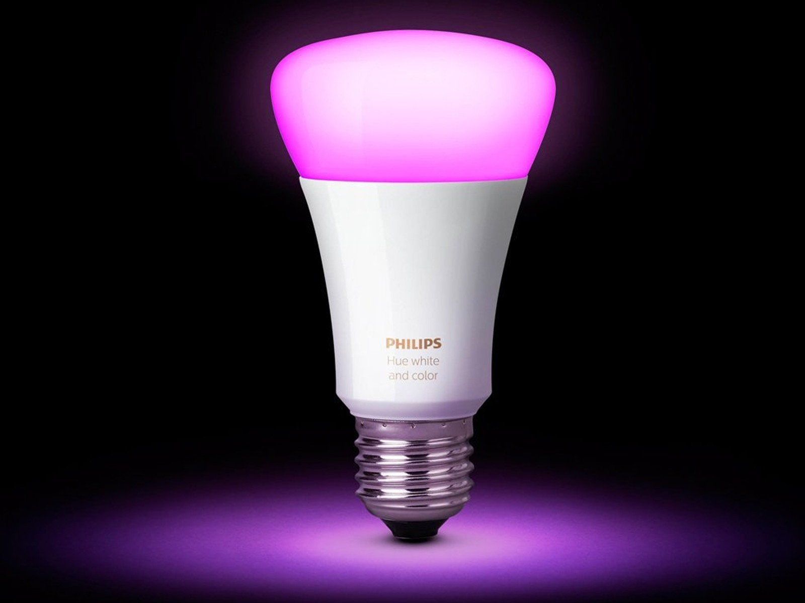 Add some color to your home with 3rd gen philips hue bulbs for 41 choose between millions of colors and shades of white light to light your home wirelessly control with your smartphone or tablet and sync your light aloadofball Gallery