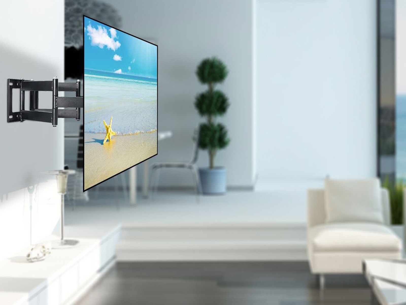 The $24 Lumsing TV wall mount lets you watch your favorite shows ...